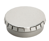Round tin - click clack tin box