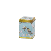 50 g square tin with slip lid