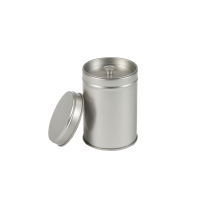 Round tin - spice tin with inner lid