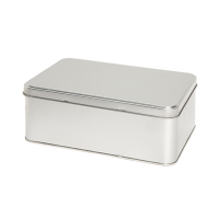 Rectangular tin - biscuit tin