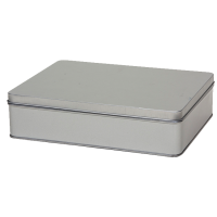 Rectangular tin with sliplid