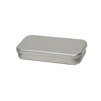 Rectangular tin - pastille tin with slip lid, medium