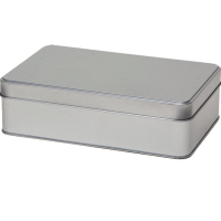Rectangular tin with sliplid, xlarge