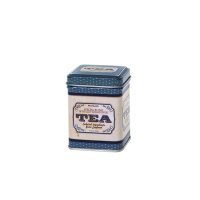 Square tin 50 g with slip lid