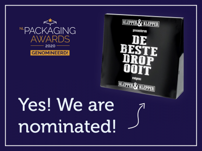 The Box nominated for NL Packaging Awards